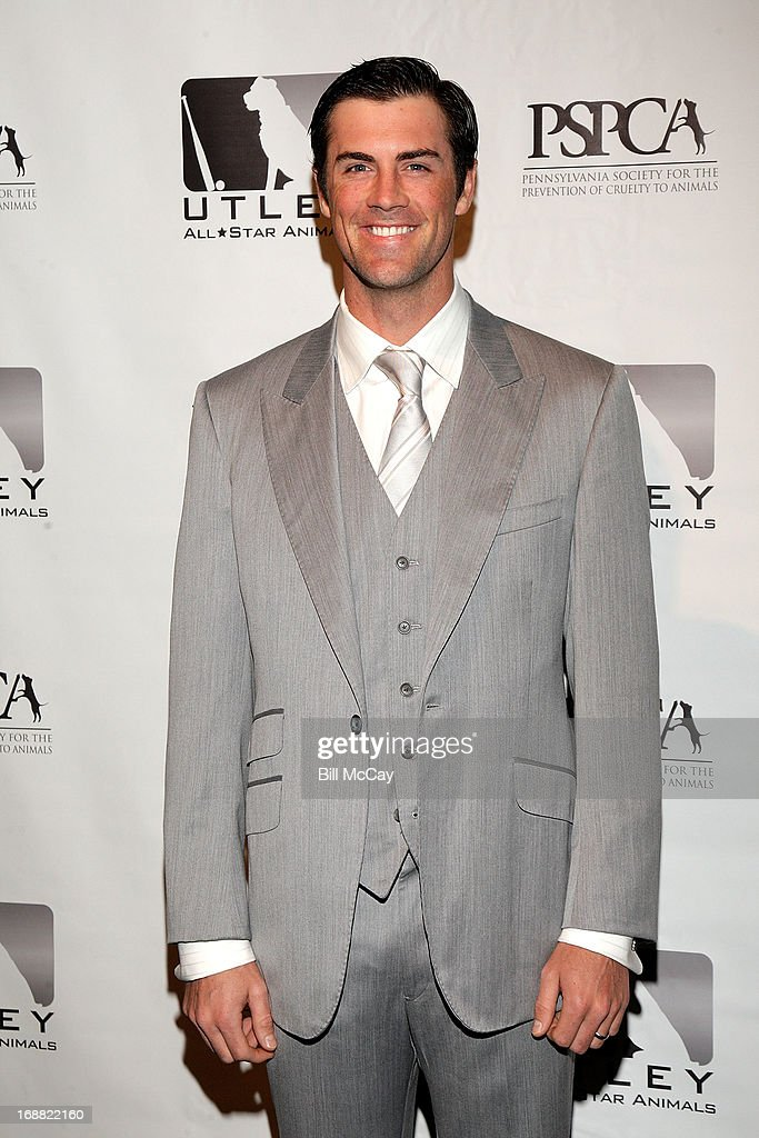 <a gi-track='captionPersonalityLinkClicked' href=/galleries/search?phrase=Cole+Hamels&family=editorial&specificpeople=565675 ng-click='$event.stopPropagation()'>Cole Hamels</a> attends the 6th Annual Utley All-Star Animals Casino Night to benefit the Pennsylvania SPCA at The Electric Factory May 15, 2013 in Philadelphia, Pennsylvania.