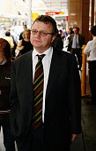 Cole Inquiry Richard Fuller AWB comapny Secetary leaves the AWB Inquiry in Sydney 24 March 2006 SMH Picture by LEE BESFORD