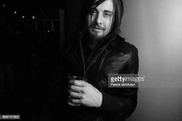 Cole Miller attends RADAR ENTERTAINMENT THE LAST MAGAZINE Toast Fashion Week at Studio 385 Broadway on February 20 2009 in New York City