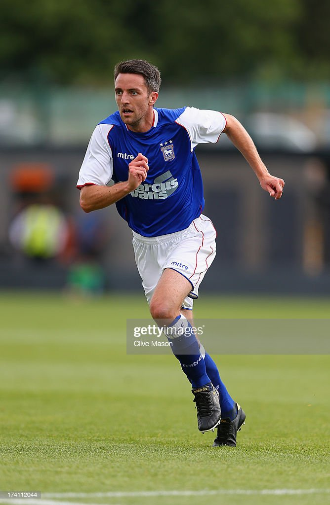 Cole Skuse of Ipswich Town in action during the pre season friendly match between Barnet and Ipswich Town at The Hive on July 20, 2013 in Barnet, England.
