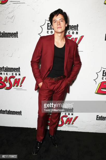 Cole Sprouse at Entertainment Weekly's annual ComicCon party in celebration of ComicCon 2017 at Float at Hard Rock Hotel San Diego on July 22 2017 in...