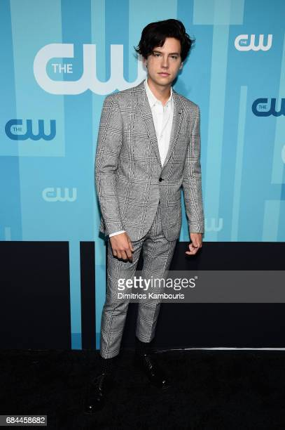 Cole Sprouse attends the 2017 CW Upfront on May 18 2017 in New York City