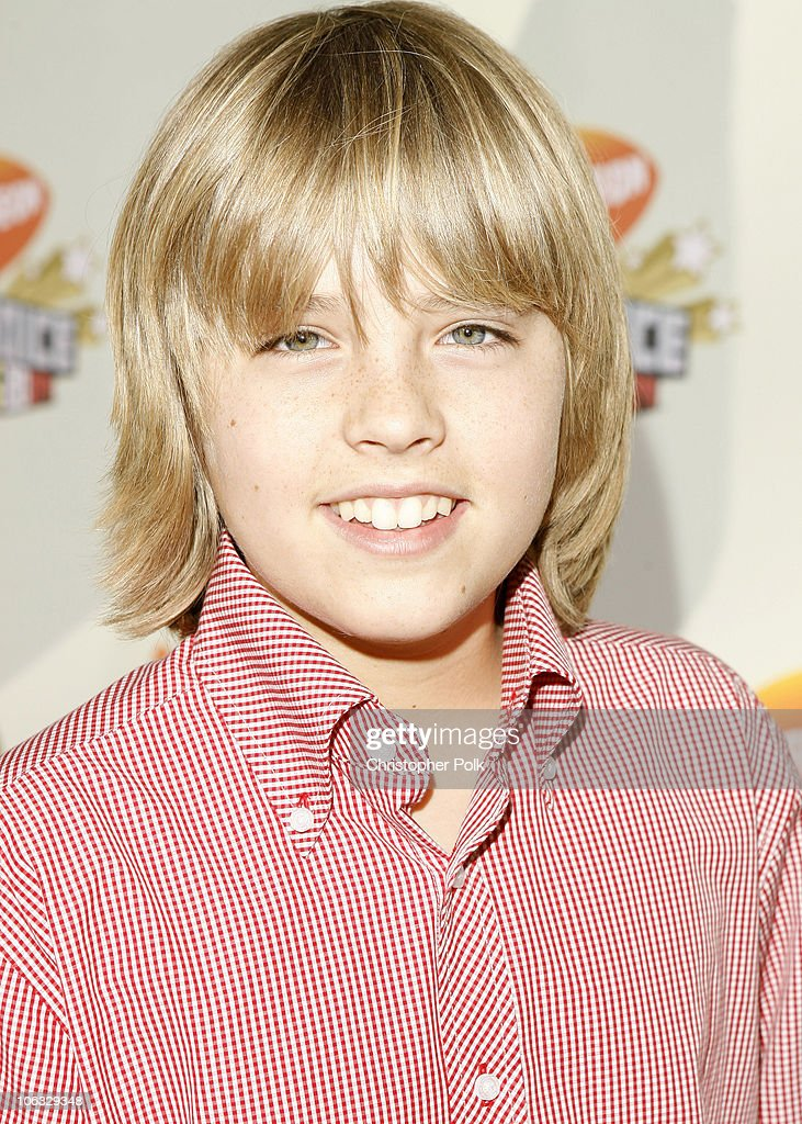 <a gi-track='captionPersonalityLinkClicked' href=/galleries/search?phrase=Cole+Sprouse&family=editorial&specificpeople=540255 ng-click='$event.stopPropagation()'>Cole Sprouse</a> during Nickelodeon's 20th Annual Kids' Choice Awards - Orange Carpet at Pauley Pavilion - UCLA in Westwood, California, United States.