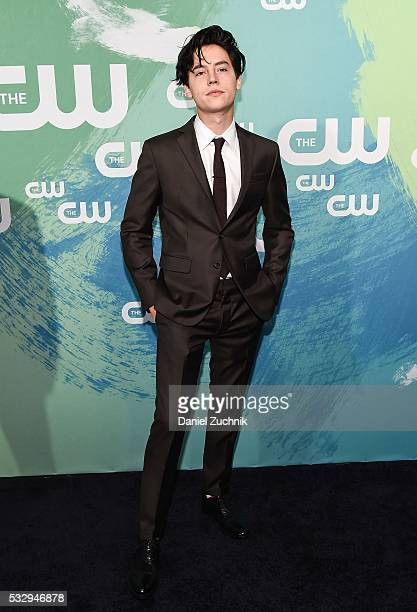 Cole Sprouse of the series 'Riverdale' attends The CW Network's 2016 New York Upfront at The London Hotel on May 19 2016 in New York City