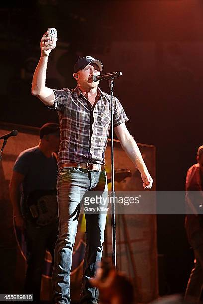 Cole Swindell performs in concert at the ATT Center on September 18 2014 in San Antonio Texas
