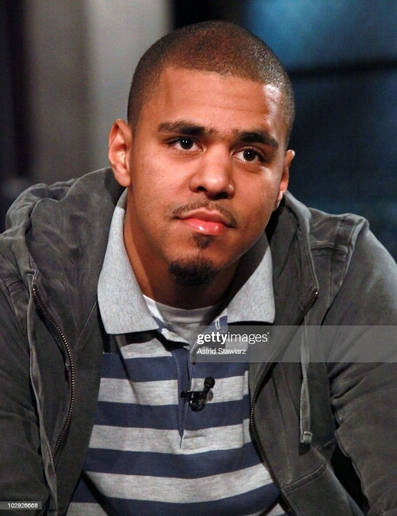 J. Cole visits Fuse's 'Hip Hop Shop' to tape an episode that will air on July 21, 2010. This episode was taped at fuse Studios on July 15, 2010 in New York City.