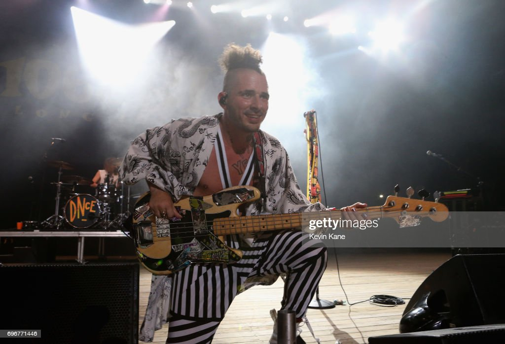 Cole Whittle of DNCE performs on stage during the 2017 BLI Summer Jam at Nikon at Jones Beach Theater on June 16, 2017 in Wantagh, New York.