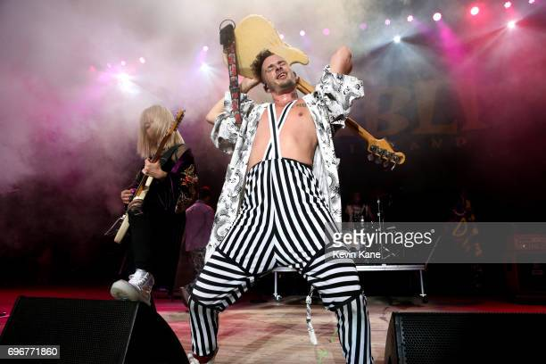 Cole Whittle of DNCE performs on stage during the 2017 BLI Summer Jam at Nikon at Jones Beach Theater on June 16 2017 in Wantagh New York