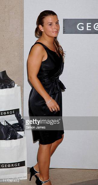 Coleen McLoughlin during ASDA's Must Have Range – Launch at Victoria Square in London Great Britain