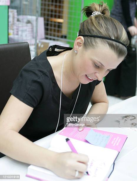 Coleen McLoughlin during Coleen McLoughlin Signs Her Book 'Welcome to My World' at Asda March 14 2007 at Asda in Leeds Great Britain
