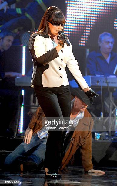 Coleen Nolan of The Nolans performs at Apollo on October 13 2009 in Manchester England