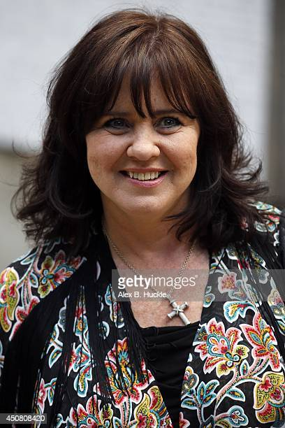 KINGDOM JUNE Coleen Nolan seen leaving the ITVStudios on June 18 2014 in London England