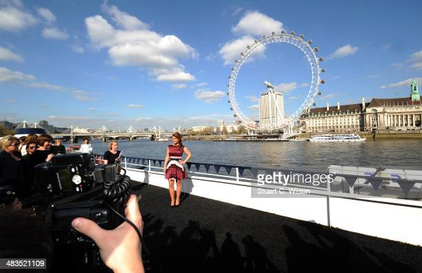 Coleen Rooney attends a photocall to launch the her Fashion and Swimwear SS14 collection for Littlewoodscom on April 9 2014 in London England