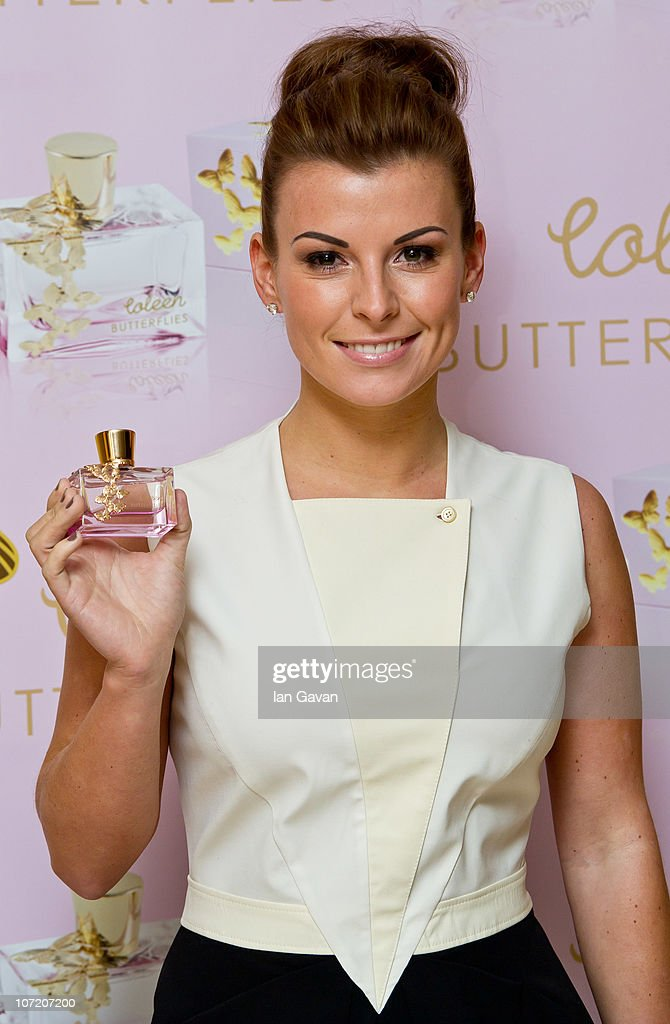 Coleen Rooney Launches New Fragrance, Butterflies - Photocall