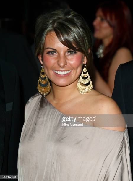 Coleen Rooney attends launch party/photocall for The Hilton Liverpool on January 28 2010 in Liverpool England