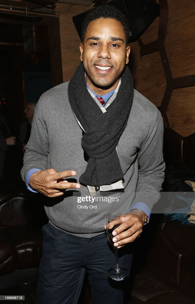 BJ Coleman attends DuJour Magazine Gala with Coco Rocha and Nigel Barker presented by TW Steel at Scott Sartiano and Richie Akiva's The Darby on January 23, 2013 in New York City.