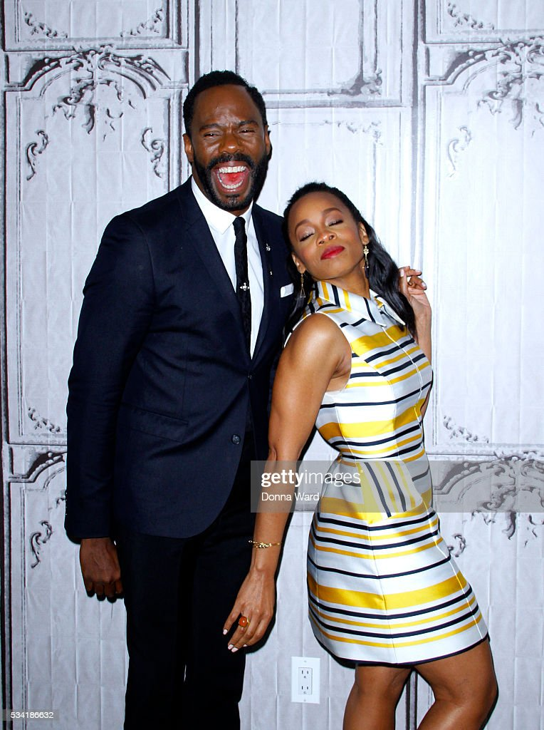 Coleman Domingo and Anika Noni Rose appear to promote 'Roots' during the AOL BUILD Series at AOLat AOL Studios In New York on May 25 2016 in New York...