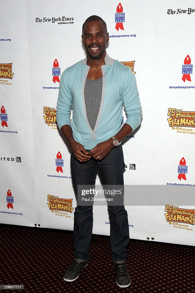 Coleman Domingo attends the 25th annual Broadway Flea Market at The Bernard B. Jacobs Theatre on September 25, 2011 in New York City.