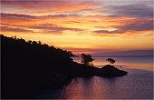 Coles Bay, Freycinet Pensinsular, east coastline of Tasmania.