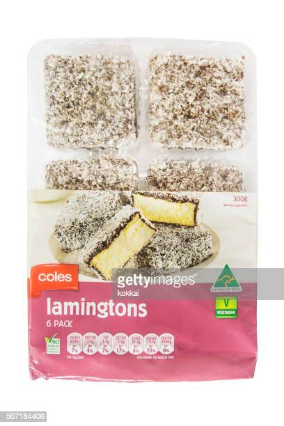 Coles Lamingtons 6 pack