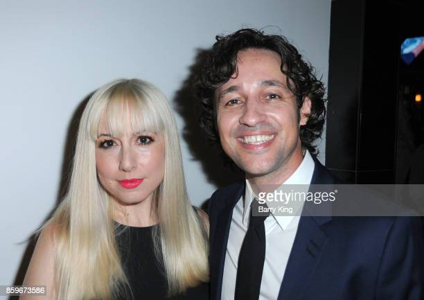 DJ Colette and husband actor/singer Thomas Ian Nicholas attend 'The Lost Tree' screening at TCL Chinese 6 Theatres on October 9 2017 in Hollywood...