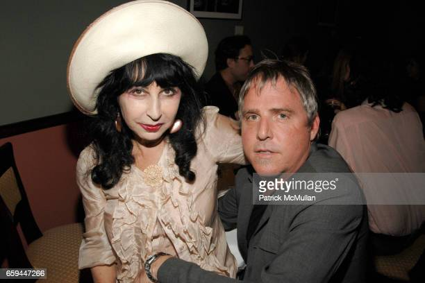 Colette and Lee Mack attend RON GALELLA Book Party for 'VIVA L'ITALIA' Hosted by PATRICK MCMULLAN at Pasta Bar at Ancora on September 22 2009 in New...