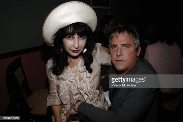 Colette and Lee Mack attend the Ron Galella Book Party for 'Viva L'Italia' hosted by Patrick McMullan at the Pasta Bar at Ancora on September 22 2009...