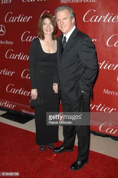 Colette Kilroy and Jamey Sheridan attend 2010 Palm Springs Film Festival Star Studded Awards Gala Presented by Cartier at Palm Springs Convention...