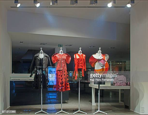 Colette Paris window display 2015 as Part of the World Fashion Window Displays on February 20 2015 in Paris France