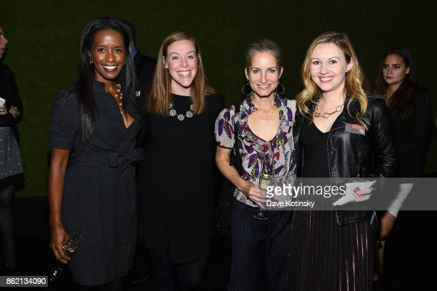 Colette Shelton Caitlin Quaranto and guests attend the Design Forward with Delta Faucet at Cooper Hewitt Smithsonian Design Museum on October 16 2017...