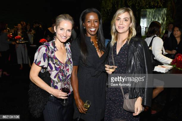 Colette Sheton and Amber Lewis attend the Design Forward with Delta Faucet at Cooper Hewitt Smithsonian Design Museum on October 16 2017 in New York...