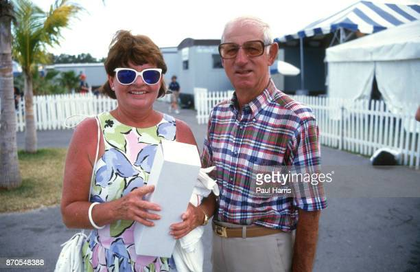 Colette Thompson and Jimmy Evert are Chris Evert the tennis player parents she was raised in a devout Roman Catholic family photographed May 17 1988...