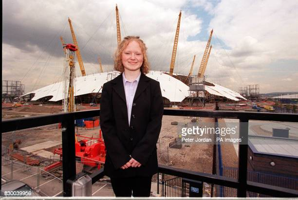 Colette Thompson from Belfast a member of the UK Millennium Youth Council Photo by Peter Jordan/PA