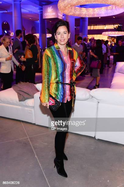 Colette Van den Thillart attends the opening celebration of RH Restoration Hardware The Unveiling Of RH Toronto The Gallery At Yorkdale Shopping...