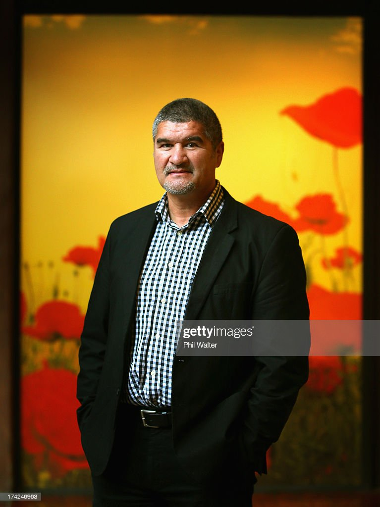 Colin Cooper poses for a portrait after being named as the coach of the Maori All Blacks at NZ Rugby on July 23 2013 in Auckland New Zealand