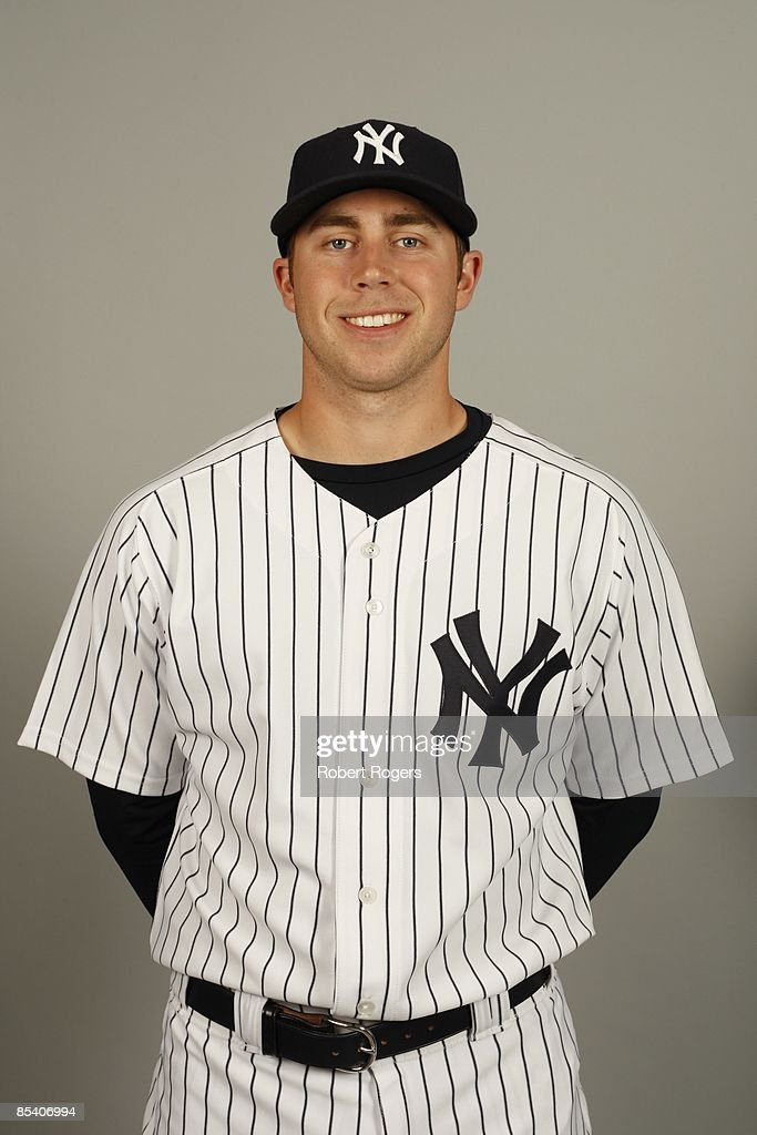 Colin Curtis of the New York Yankees poses during Photo Day on Thursday, February 19, 2009 at Steinbrenner Field in Tampa, Florida.
