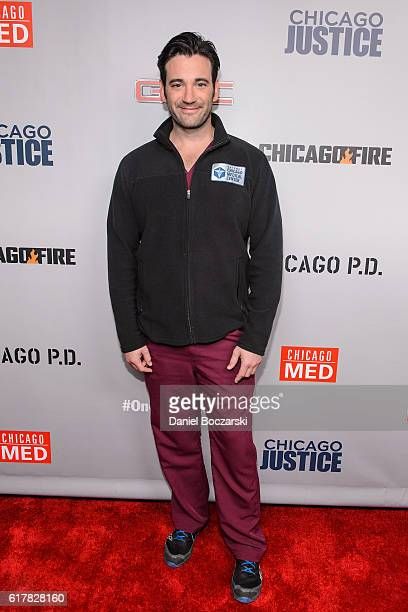 Colin Donnell attends NBC's Chicago series press day on October 24 2016 in Chicago Illinois