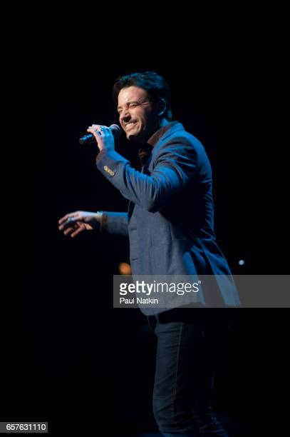 Colin Donnell speaks at the Concert for America at the Auditorium Theater in Chicago Illinois March 20 2017