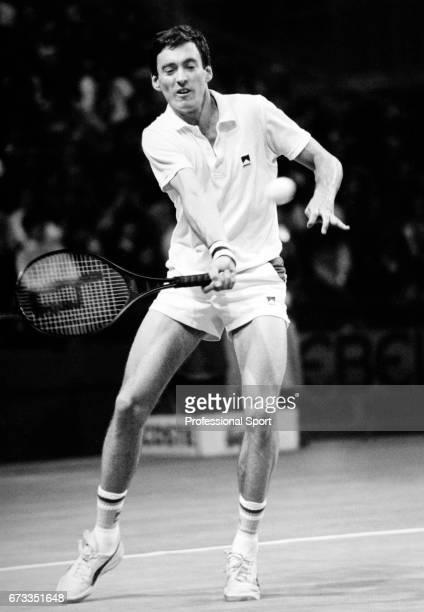 Colin Dowdeswell of Great Britain in action circa 1984