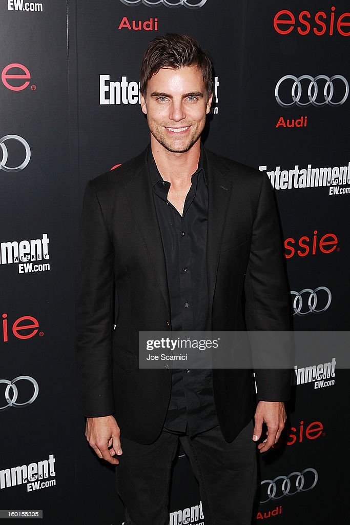 <a gi-track='captionPersonalityLinkClicked' href=/galleries/search?phrase=Colin+Egglesfield&family=editorial&specificpeople=584090 ng-click='$event.stopPropagation()'>Colin Egglesfield</a> arrives at Entertainment Weekly Screen Actors Guild Awards Pre-Party at Chateau Marmont on January 26, 2013 in Los Angeles, California.