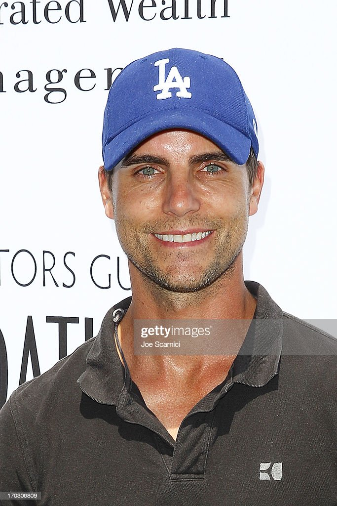 <a gi-track='captionPersonalityLinkClicked' href=/galleries/search?phrase=Colin+Egglesfield&family=editorial&specificpeople=584090 ng-click='$event.stopPropagation()'>Colin Egglesfield</a> arrives to the Screen Actors Guild Foundation's 4th annual Los Angeles golf classic at Lakeside Golf Club on June 10, 2013 in Burbank, California.