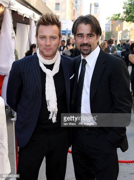 Colin Farrell and Ewan Mcgregor arrive at the 'Cassandra's Dream' North American Premiere screening during the Toronto International Film Festival...