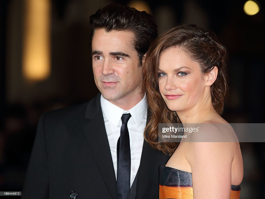 <a gi-track='captionPersonalityLinkClicked' href=/galleries/search?phrase=Colin+Farrell&family=editorial&specificpeople=202154 ng-click='$event.stopPropagation()'>Colin Farrell</a> and <a gi-track='captionPersonalityLinkClicked' href=/galleries/search?phrase=Ruth+Wilson&family=editorial&specificpeople=3111655 ng-click='$event.stopPropagation()'>Ruth Wilson</a> attend the Closing Night Gala European Premiere of 'Saving Mr Banks' during the 57th BFI London Film Festival at Odeon Leicester Square on October 20, 2013 in London, England.