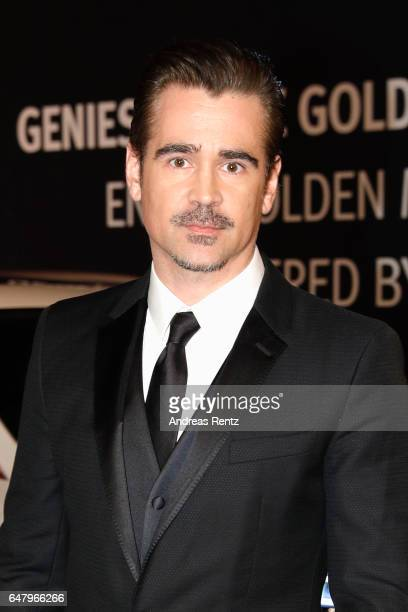 Colin Farrell arrives for the Goldene Kamera on March 4 2017 in Hamburg Germany