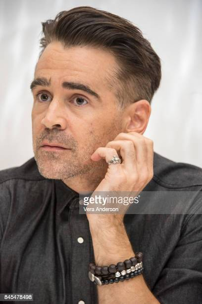 Colin Farrell at 'The Killing of a Sacred Deer' Press Conference at the Fairmont Royal York Hotel on September 9 2017 in Toronto Canada