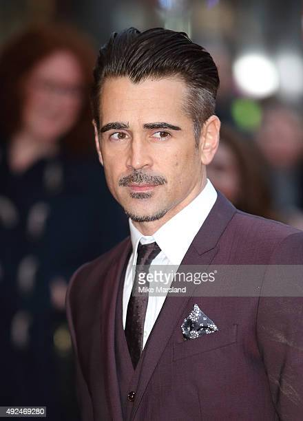 Colin Farrell attends a screening of 'The Lobster' during the BFI London Film Festival at Vue West End on October 13 2015 in London England