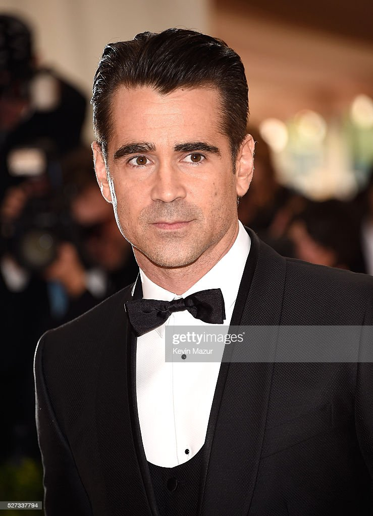 Colin Farrell attends 'Manus x Machina: Fashion In An Age Of Technology' Costume Institute Gala at Metropolitan Museum of Art on May 2, 2016 in New York City.
