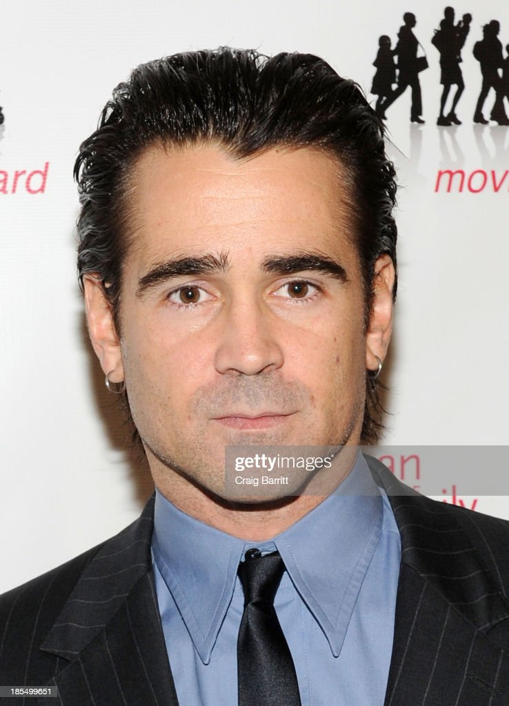<a gi-track='captionPersonalityLinkClicked' href=/galleries/search?phrase=Colin+Farrell&family=editorial&specificpeople=202154 ng-click='$event.stopPropagation()'>Colin Farrell</a> attends the 2013 Families Moving Forward gala at The Waldorf Astoria on October 21, 2013 in New York City.