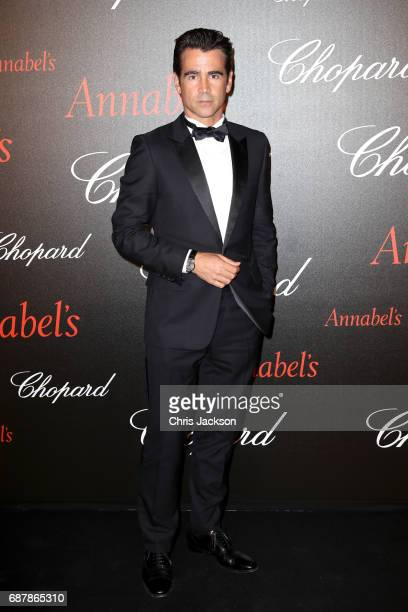 Colin Farrell attends the Annabel's Chopard Party during the 70th annual Cannes Film Festival at Martinez Hotel on May 24 2017 in Cannes France