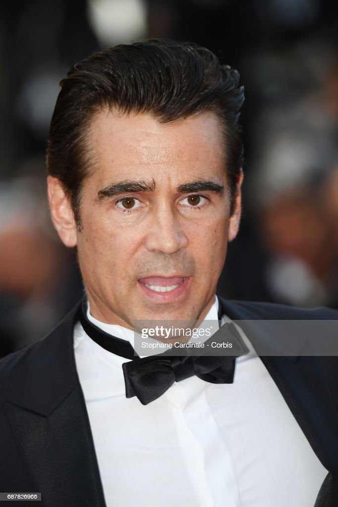 Colin Farrell attends 'The Beguiled' premiere during the 70th annual Cannes Film Festival at Palais des Festivals on May 24, 2017 in Cannes, France.